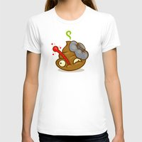 poop T-shirts featuring Sick Poop by Artistic Dyslexia