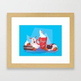 Rat Party! Framed Art Print