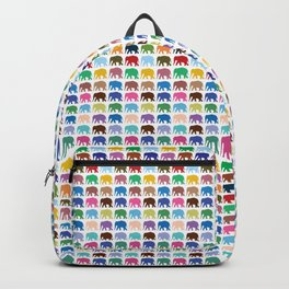 Elephant pattern Backpack