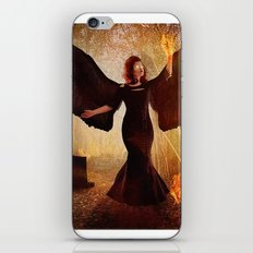 Embrace the Fire Within iPhone & iPod Skin