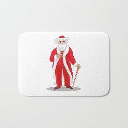 Big Pimpin' Santa Bath Mat