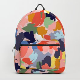 Bright Paint Blobs Backpack