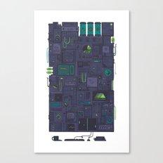 AFK Canvas Print