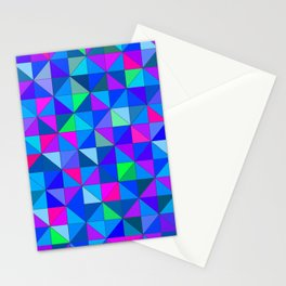 Blue 2 Stationery Cards
