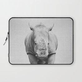 Rhino 2 - Black & White Laptop Sleeve