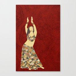 Belly dancer 3 Canvas Print
