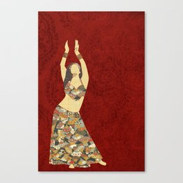 Belly dancer 3 Canvas Print