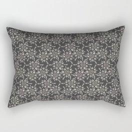 Gray Lace Rectangular Pillow
