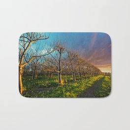 Orchard Skies Bath Mat