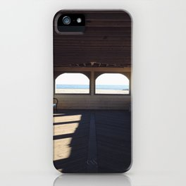 Cape May Beach Pavilion  iPhone Case