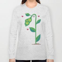 Pea Pod Love Long Sleeve T-shirt