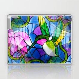 Humming Bird & Fuchsia Laptop & iPad Skin
