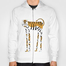Long legs Tiger Hoody