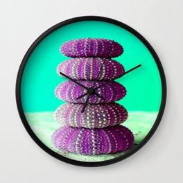 Ricci di Mare I Wall Clock
