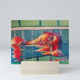 Distorted Self-Confidence Mini Art Print
