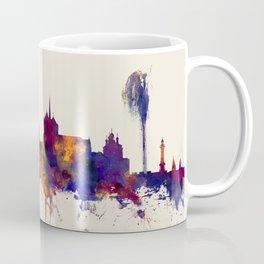 Geneva Switzerland Skyline Coffee Mug