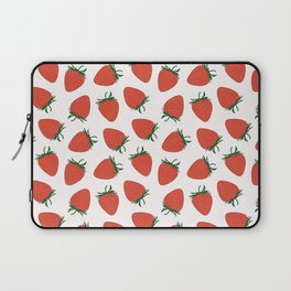 Strawberry Red Pattern Laptop Sleeve
