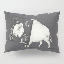 Not Amused (Dark) Pillow Sham