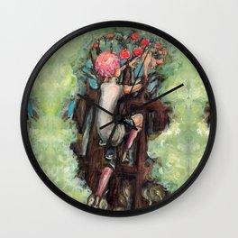 Guniper Is Trapped Wall Clock