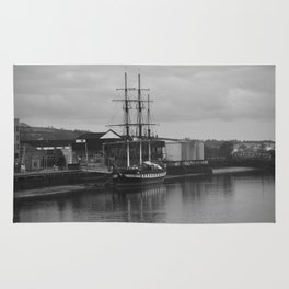 Famine Ship Dunbrody Rug