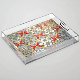 Detroit People Mover Art Broadway Fort and Cass Acrylic Tray