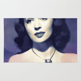 Lilli Palmer, Movie Legend Rug