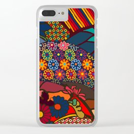 African Style No7, Wedding Day Clear iPhone Case