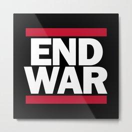 End War Metal Print