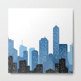 City Landscape Metal Print