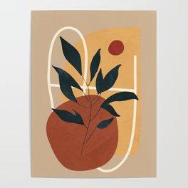Abstract Shapes No.16 Poster
