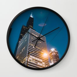 Chicago - Mecca of the Midwest III Wall Clock