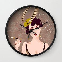 Cigarette Sigh Wall Clock