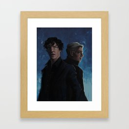 There's always two of us Framed Art Print