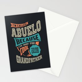 I'm Called Abuelo Stationery Cards