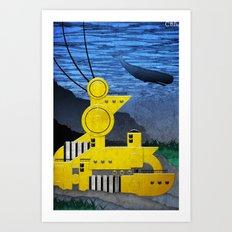 Station//Sea (2 of 6) Art Print
