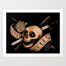 Hell's Bells Art Print