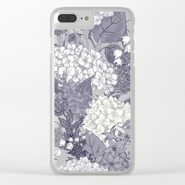 Floral Pattern 23 Clear iPhone Case