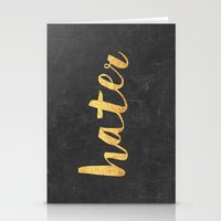 2pac Stationery Cards featuring Hater by Text Guy