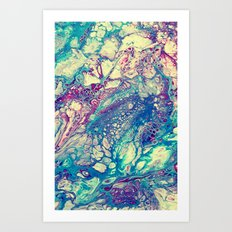 The Dream - for iphone Art Print