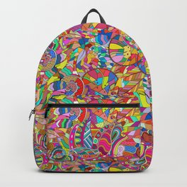 Micor Abstrct Backpack