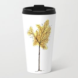 Autumn Tree Illustration Travel Mug