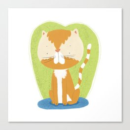 Tommy The Cat Canvas Print