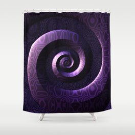 Nagini's Coils Shower Curtain