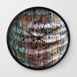 crinkles  Wall Clock