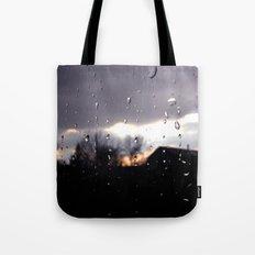 just like raindrops Tote Bag