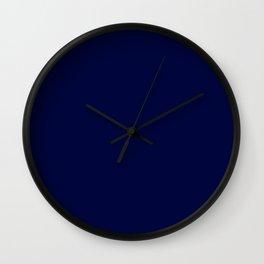 Blue Midnight Wall Clock