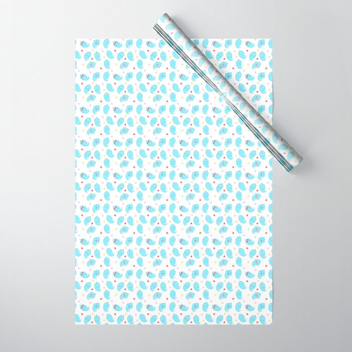 Ghosty pattern Wrapping Paper