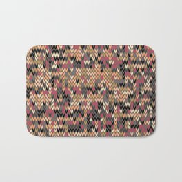 Heathered knit textile 2 Bath Mat