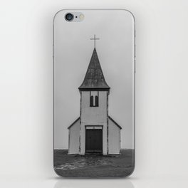 Old Church in Iceland iPhone Skin