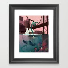 Your Music, I Has It Framed Art Print